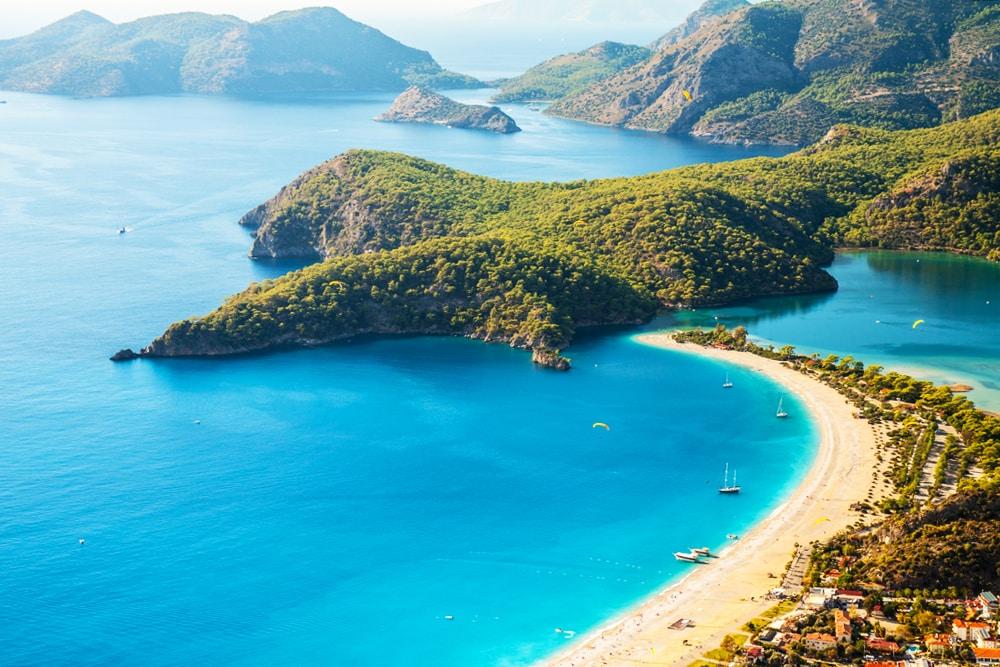 Красивые фото моря в турции