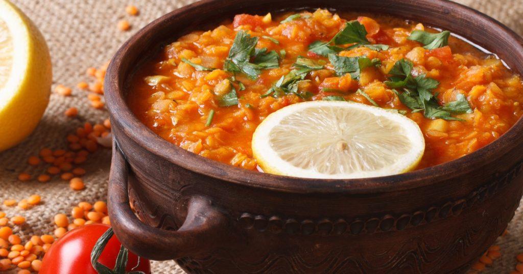 Турецкий суп с булгуром