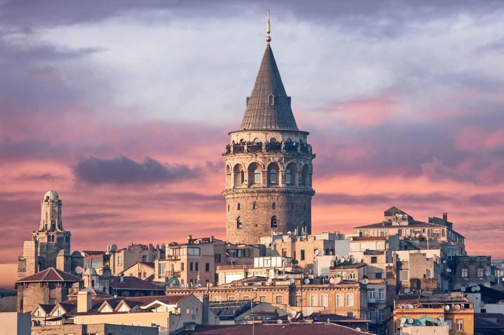 Башня Галата в Стамбуле