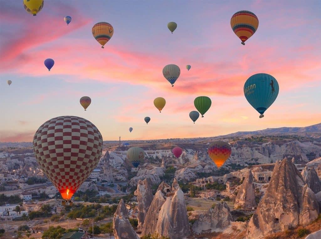 Каппадокия - фестиваль воздушных шаров