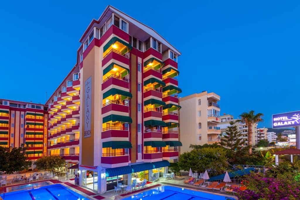Отель Galaxy Beach Hotel 4* (Турция, Аланья)