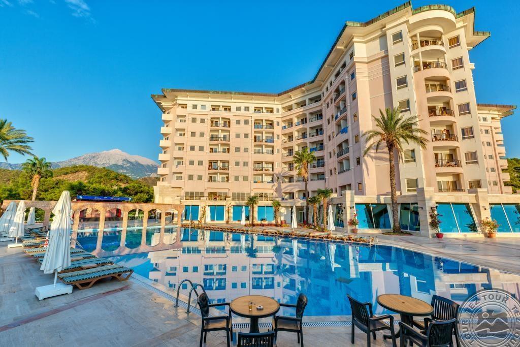 Отель Kilikya Resort Camyuva