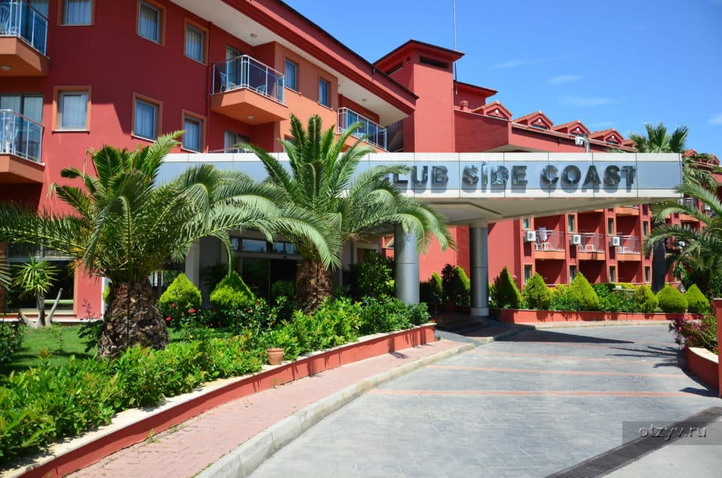 Otel Club Side Coast Hotel Turciya Side Infodays