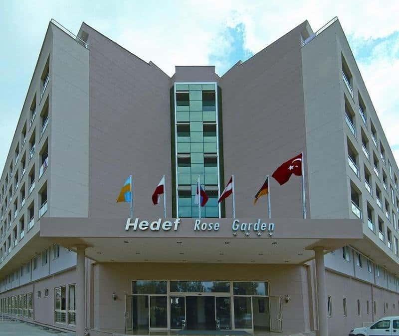 Отель Hedef Rose Garden
