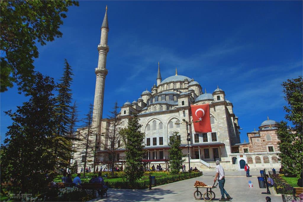 Мечеть Фатих Стамбул