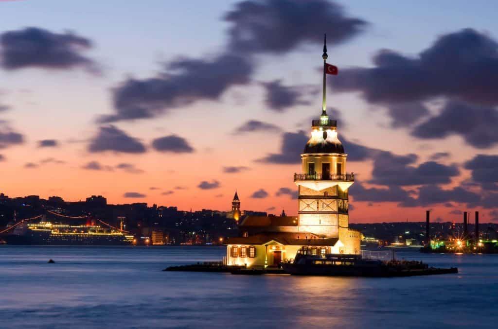 Девичья башня Стамбул